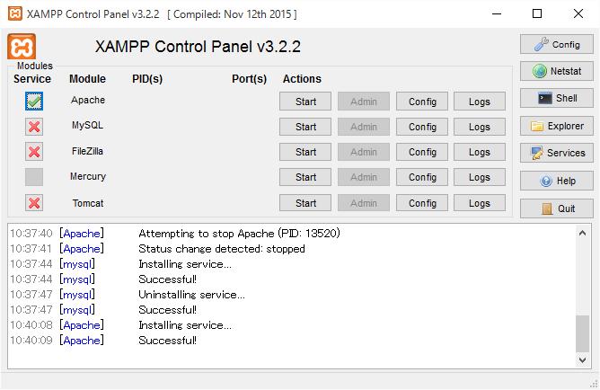 xampp-after-install-service